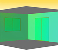 プラメイクEⅡの効果で、エアコンの効果が高まり、涼しく快適です。